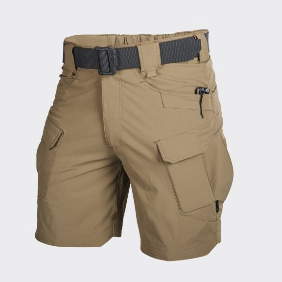 Spodenki OTS® (Outdoor Tactical Shorts) 8.5'' - Nylon - Mud Brown