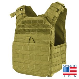 Condor® Cyclone Lightweight Plate Carrier (US1020-003) - Coyote / Tan