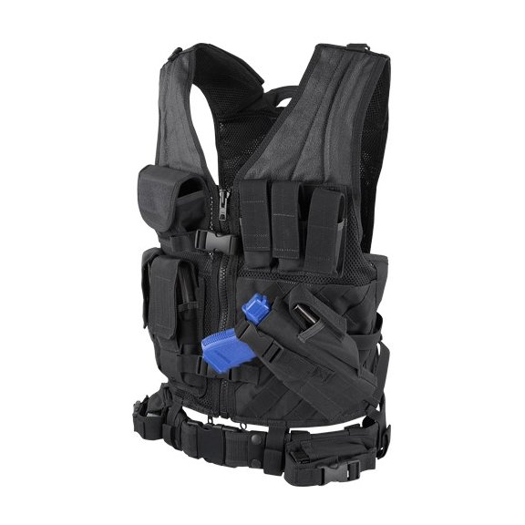 Condor® Crossdraw Vest (CV-002) - Black