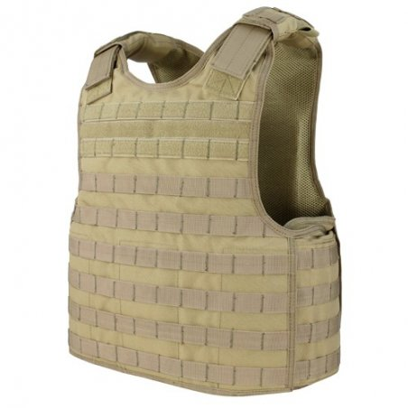 Condor® Kamizelka Defender Plate Carrier (DFPC-003) - Coyote / Tan