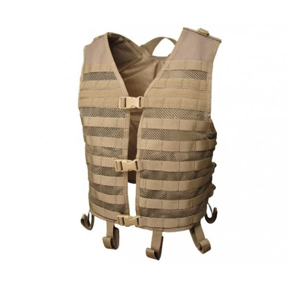 Mesh Hydration Vest (MHV-003) - Coyote / Tan