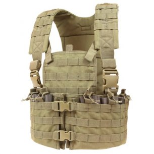 Condor® Kamizelka Modular Chest Set (CS-003) - Coyote / Tan