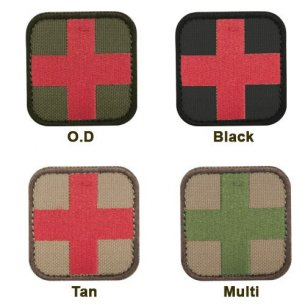 Plakietka Medic Patch (231-003) - Coyote / Tan