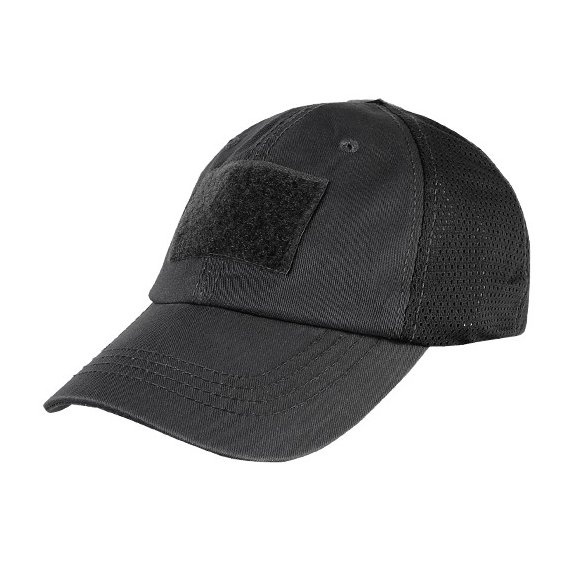Mesh Tactical Cap (TCM-002) - Black