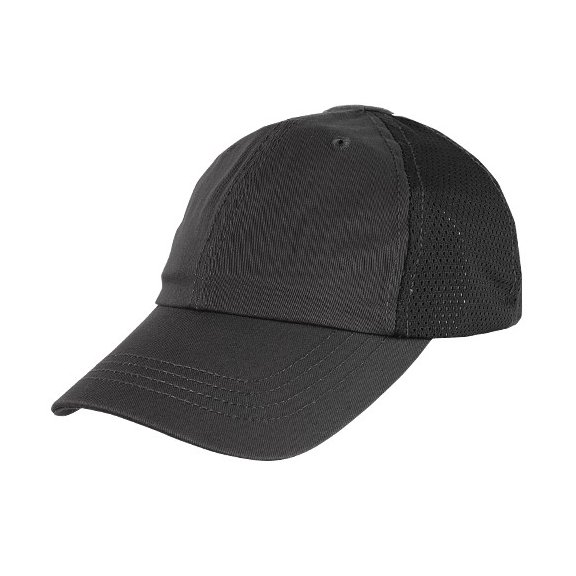 Condor® Mesh Tactical Team Cap (TCTM-002) – Black