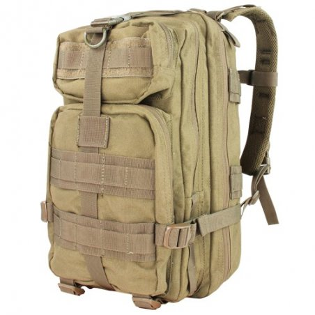Plecak Compact Assault Pack (126-003) - Coyote / Tan