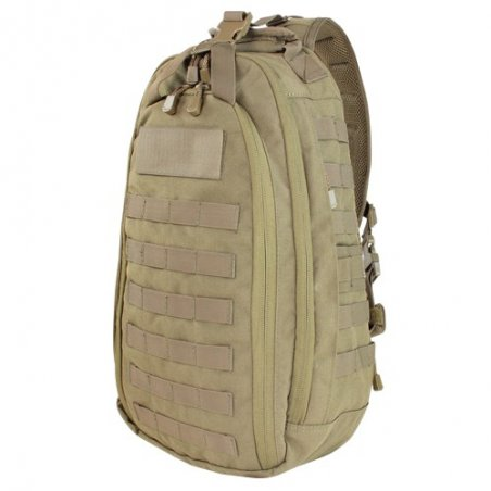 Solo Sling Bag (163-003) - Coyote / Tan