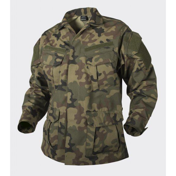 Helikon-Tex® Bluza SFU Next® (Special Forces Uniform Next) - Ripstop - PL Woodland