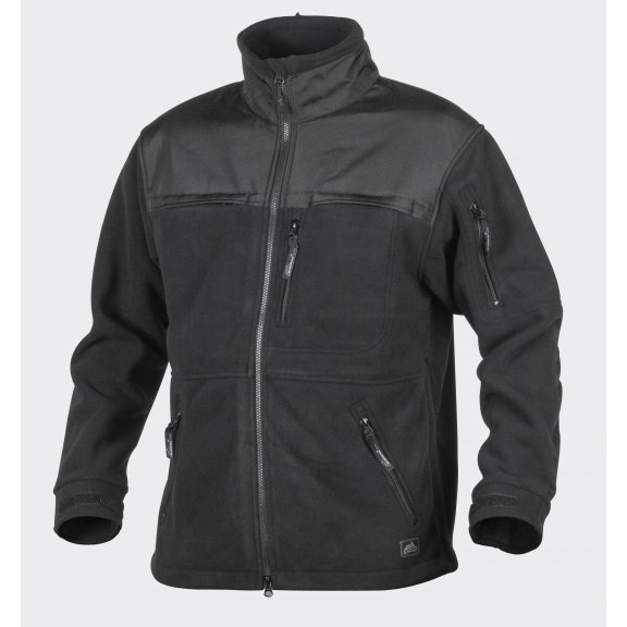 DEFENDER Fleece jacket - Schwarz