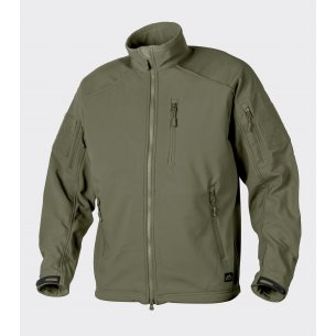 Helikon-Tex® DELTA TACTICAL Jacket - Shark Skin - Olive Green