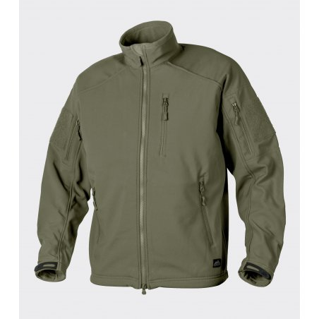 DELTA TACTICAL Jacket - Shark Skin - Olive Green