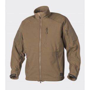 Helikon-Tex® DELTA TACTICAL Jacket - Shark Skin - Coyote / Tan