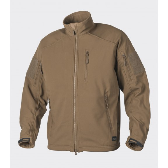 Helikon-Tex® DELTA TACTICAL Jacke - Shark Skin - Coyote / Tan