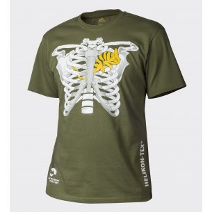 Helikon-Tex® THORAX AND CHAMELEON Classic Army T-shirt - Cotton - U.S. Green