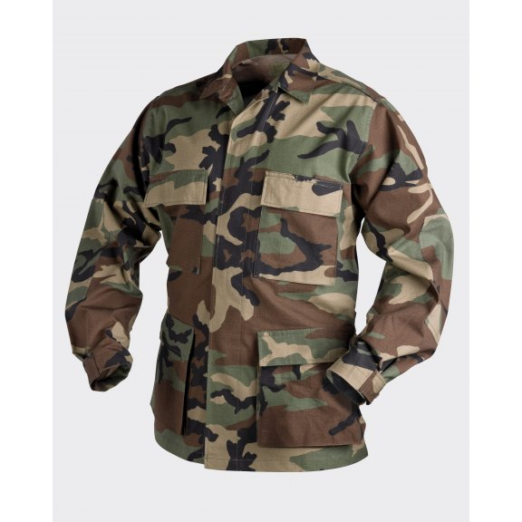 Helikon-Tex® BDU (Battle Dress Uniform) Jacke - Ripstop - US Woodland