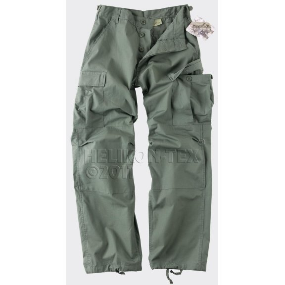 Helikon-Tex® BDU (Battle Dress Uniform) Trousers / Pants - Ripstop - Olive Drab