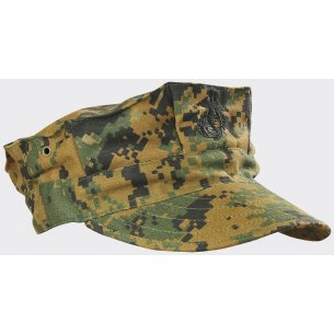 USMC (US Marine Corps) Cap - Twill - Digital Woodland
