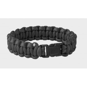 SURVIVAL BRACELET - Paracord - Black