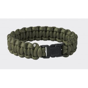 SURVIVAL BRACELET - Paracord - Olive Green
