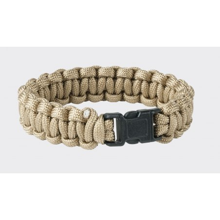 SURVIVAL BRACELET - Paracord - Coyote / Tan