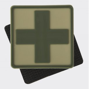 Helikon-Tex® Medic Cross Patch - PVC - Khaki