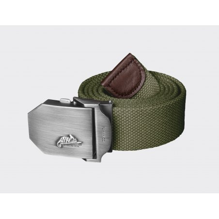 Helikon-Tex® Belt with the Manufacturer's Logo - Verde Oliva