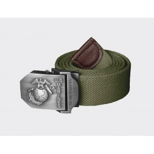U.S. MARINES Belt - Olive Green