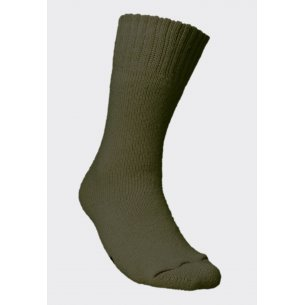 Norwegian Army Socks - Olive Green