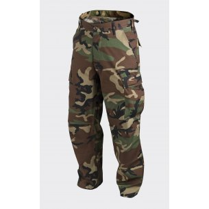BDU (Battle Dress Uniform) Trousers / Pants - Cotton Ripstop - US Woodland