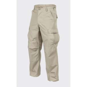 Helikon-Tex® BDU (Battle Dress Uniform) Trousers / Pants - Ripstop - Beige / Khaki
