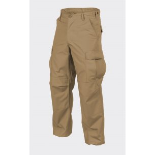 Helikon-Tex® BDU (Battle Dress Uniform) Trousers / Pants - Ripstop - Coyote / Tan