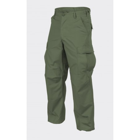 Helikon-Tex® Spodnie BDU (Battle Dress Uniform) - Twill - Olive Green