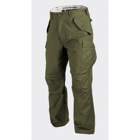 Helikon-Tex® US ARMY MILITARY M65 Trousers / Pants - Nyco Sateen - Olive Green