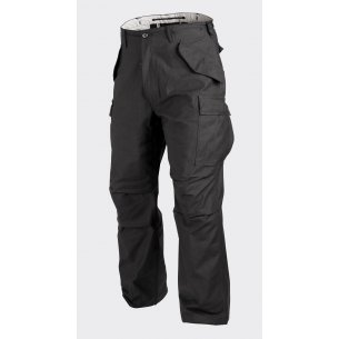 Helikon-Tex® US ARMY MILITARY M65 Trousers / Pants - Nyco Sateen - Black