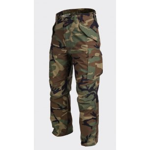 Helikon-Tex® US ARMY MILITARY M65 Trousers / Pants - Nyco Sateen - US Woodland