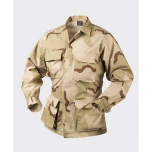Helikon-Tex® Militärische Bluse BDU (Battle Dress Uniform) - Ripstop - US Desert