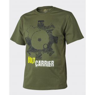 Helikon-Tex® T-Shirt (Bolt Carrier) - Bawełna - U.S. Green