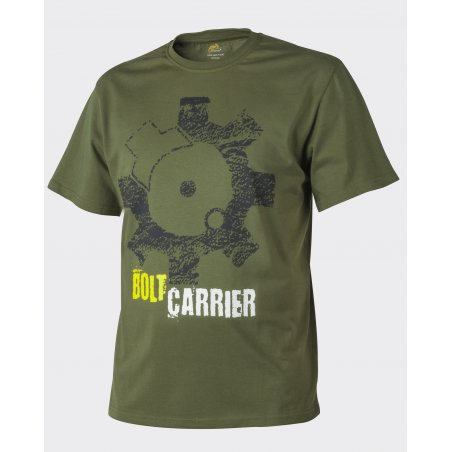 Helikon-Tex® T-Shirt (Bolt Carrier) - Cotton - U.S. Green