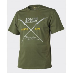 Helikon-Tex® T-Shirt (Polish Multitool) - Cotton - U.S. Green