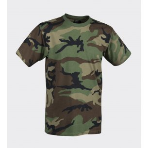 CLASSIC ARMY T-shirt - Baumwolle - US Woodland