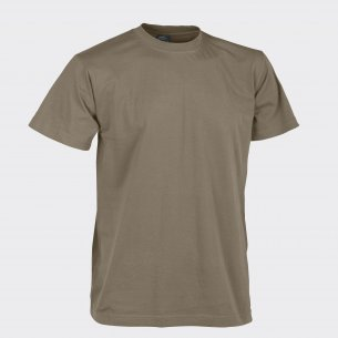 T-shirt CLASSIC ARMY - Bawełna - U.S. Brown