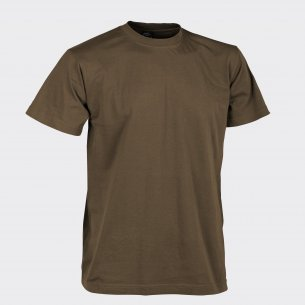 T-shirt CLASSIC ARMY - Bawełna - Mud Brown