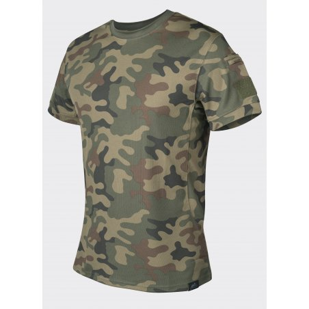 Helikon-Tex® TACTICAL T-Shirt - TopCool - PL Woodland