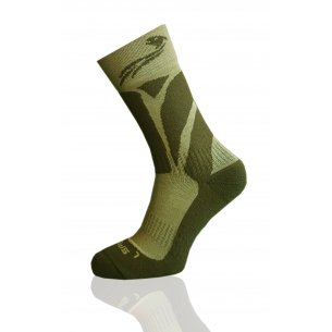 Trekking socks MERINO WOOL Survival - Khaki
