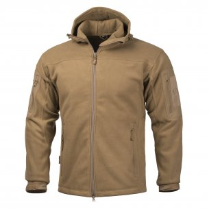 HERCULES Fleece jacket - Coyote / Tan