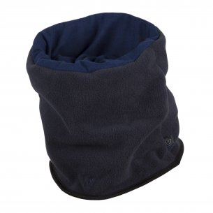 Pentagon Wrap Winter Neck - Navy Blue