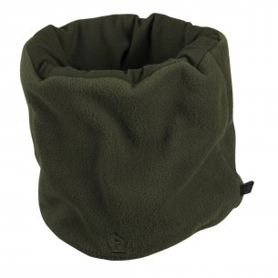 Winter Neck Scarf 1/2 Fleece  - Olive Green