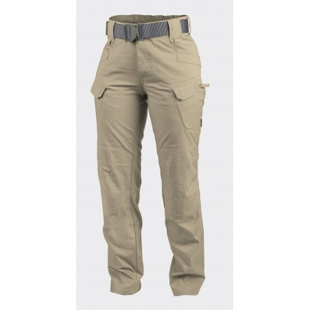Helikon-Tex® WOMEN'S UTP® (Urban Tactical Pants) Trousers / Pants - Ripstop - Beige / Khaki