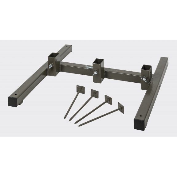 Metal Stand - Steel - Brown Grey