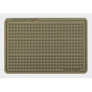 Helikon-Tex® Emblemat Tag Patch 60x40mm (komplet - 3szt.) - PVC - Coyote
